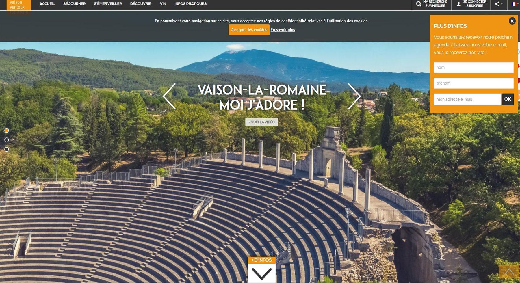 Office de tourisme de Vaison la Romaine