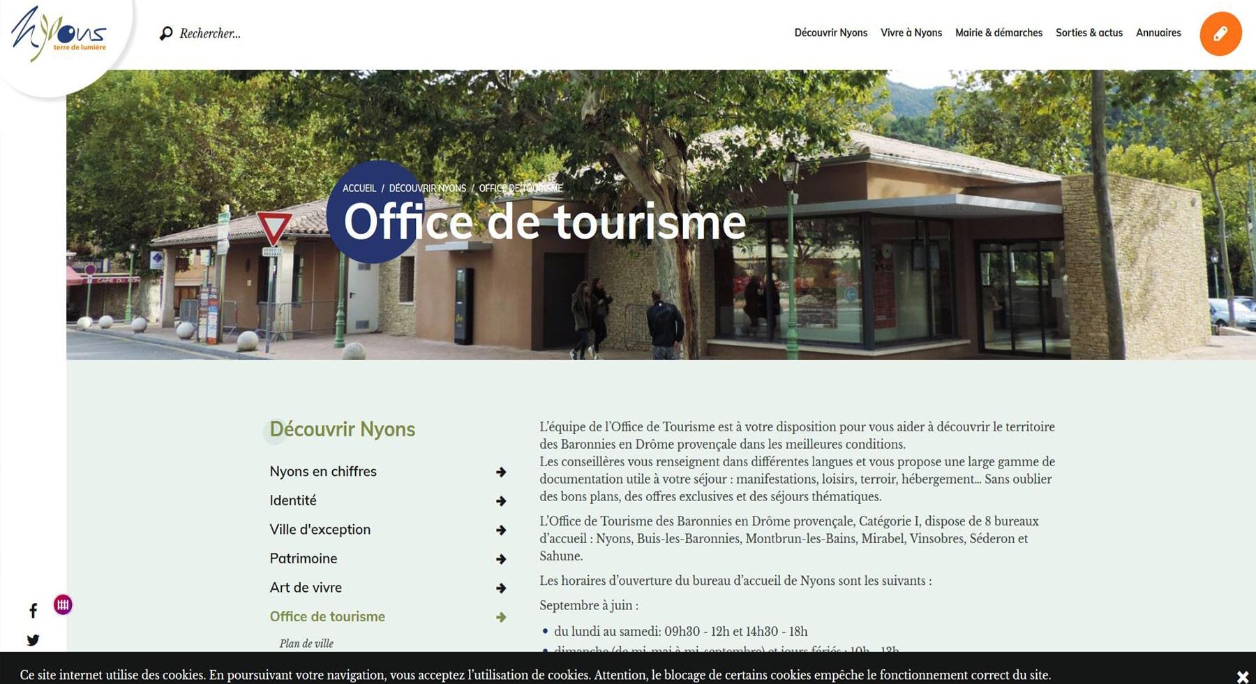 Office de tourisme de Nyons