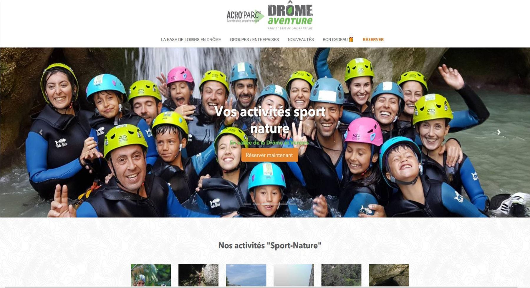 Acro'Parc Drôme Aventure