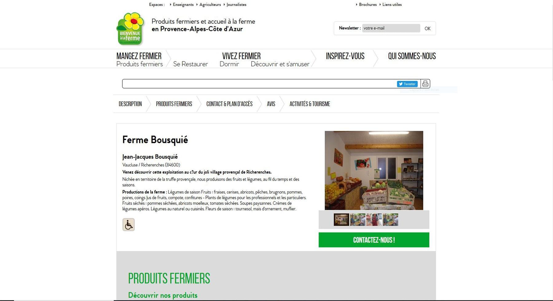 La ferme Bousquié