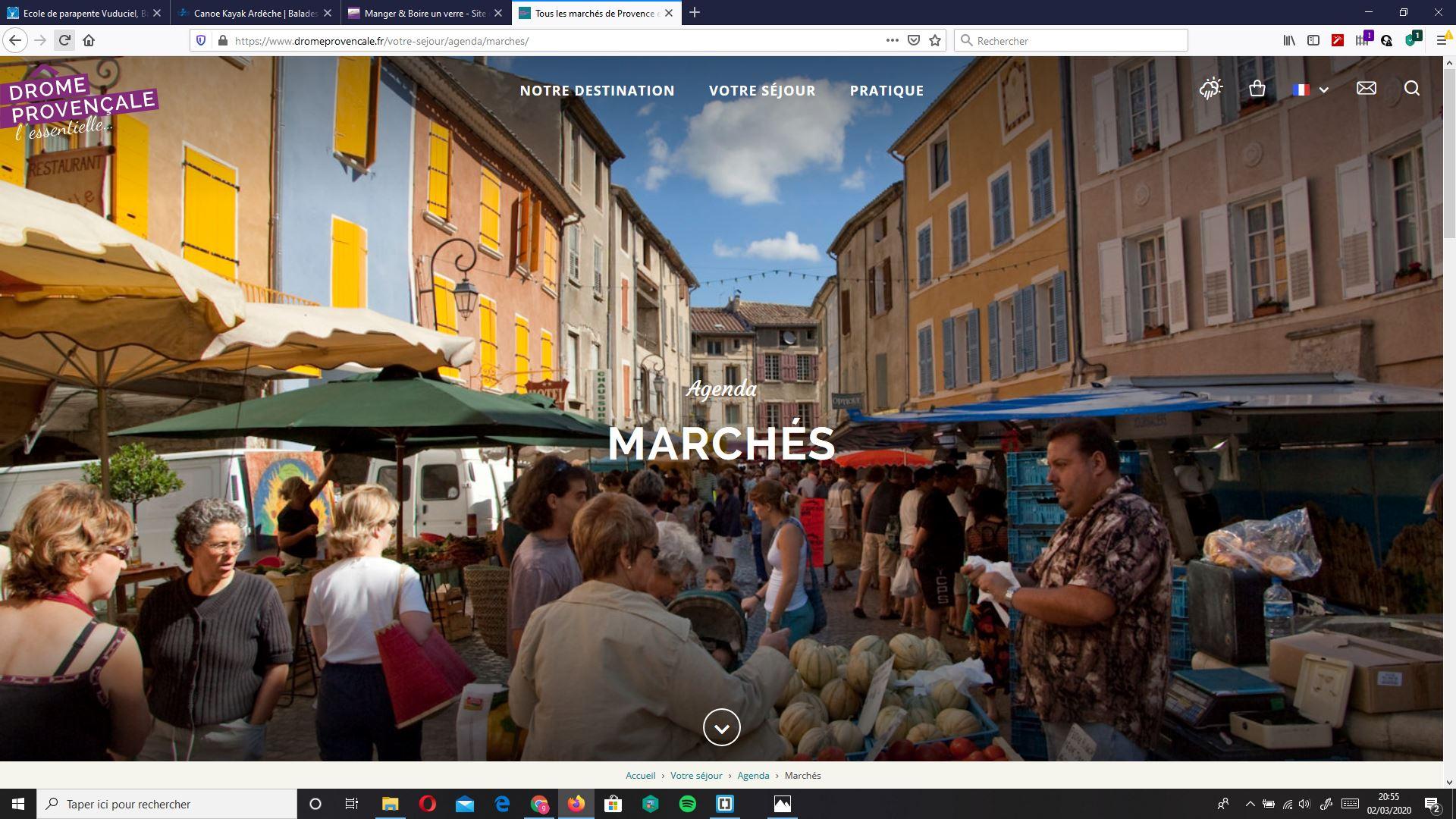 Marchés de Provence