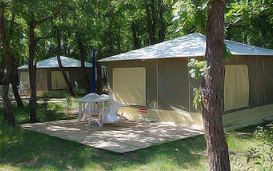 extérieur tente