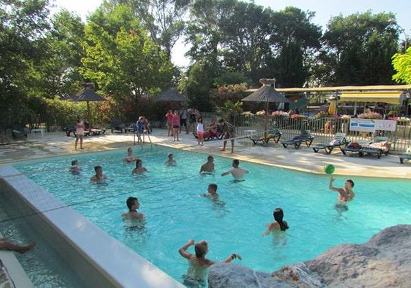 piscine camping