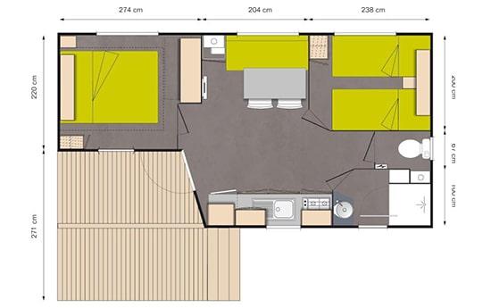 mobil-home inside